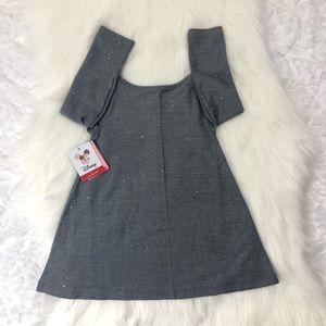 fba9bda3fb96 Disney Dresses - Disney Minnie Glitter Swing Pockets Jumper Dress